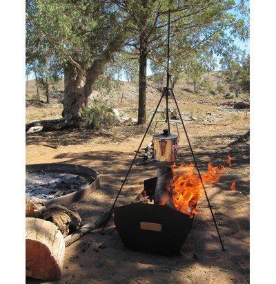 Billy Boss Adjustable Campfire Tripod